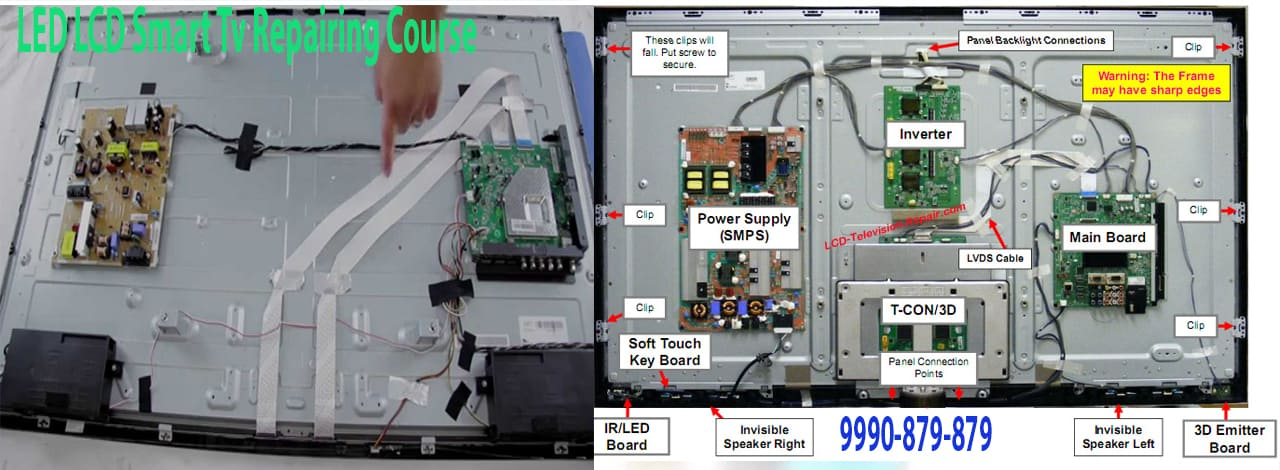 Led Lcd Smart-Tv Repairing Course